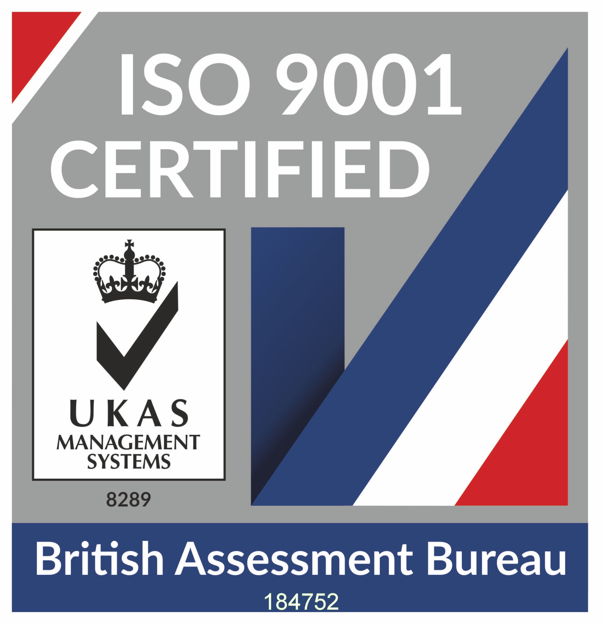 ISO 9001 Certified 8289_184752